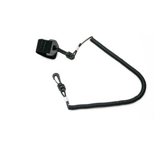 Coiled Fishing Rod Leash