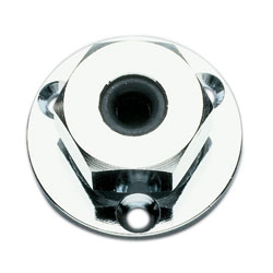 Chrome Cable Outlet - 3/8""