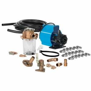 Seawater Kit with 115V Kool Air PM1000, 12K to 16K BTU, Water Cooled