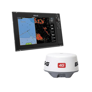 Zeus³ 12 Multifunction Display with 4G Radar Bundle