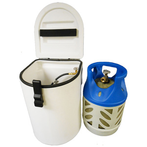 Single LPG Locker for 17 lb. or 20 lb. Propane Tanks