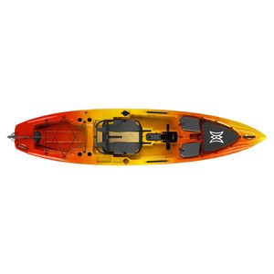 Pescador Pilot 12.0 Sit-On-Top Pedal-Drive Angler Kayak