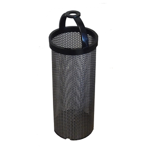 "1 1/4"" Stainless Steel Filter Basket"