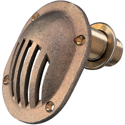 Bronze Thru-Hull Intake Strainers