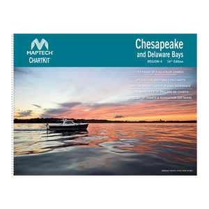 ChartKit® Region 4, 14th Edition Chesapeake and Delaware Bays