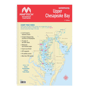 Waterproof Chartbook, Upper Chesapeake Bay