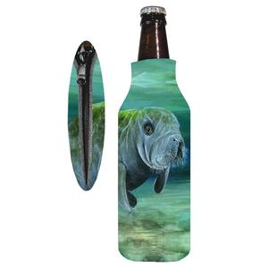 12 oz. Manatee Bottle Insulated Drink Sleeve