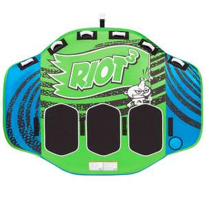 Riot 3-Rider Towable Tube