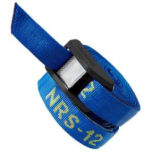 12' Cam Strap with Buckle Bumper, Pair