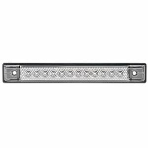 "6"" LED Utility Strip Light with Gasket, Blue"