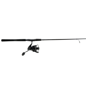 7' Custom Black Series Inshore Spinning Combo, Size 55 Reel