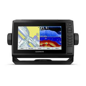 ECHOMAP™ Plus 74cv Fishfinder/Chartplotter Combo with CV23M-TM Transducer and G2 Coastal Charts