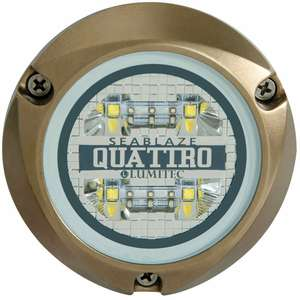 SeaBlaze Quattro LED Underwater Light, Spectrum Full Color