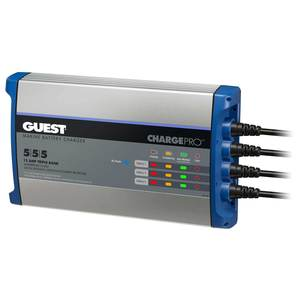 ChargePro™ Onboard Battery Charger 15A/12V, 3-Bank