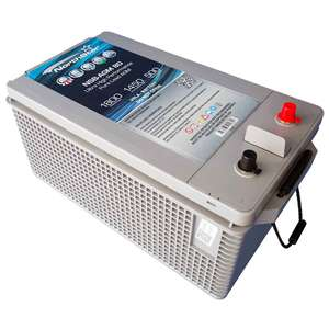 Ultra High Performance Pure Lead 8D AGM Battery with SAE Terminals