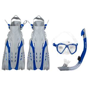 Adult Snorkel Set with Gear Bag Small-Medium