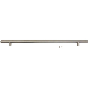 "Commercial Door Handle Stainless Steel, 7/8"" Diameter"
