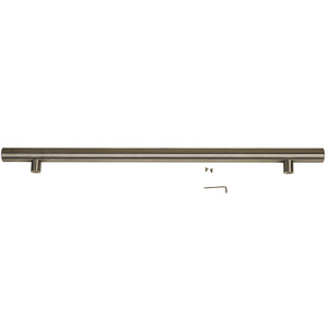 "Professional Door Handle Stainless Steel, 1 1/4"" Diameter"