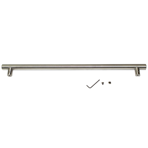 "Commercial Drawer Handle Stainless 7/8"" Diameter"