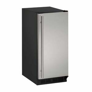 "15"" Stainless Solid Door Refrigerator"