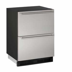 "24"" Stainless Drawer Refrigerator"