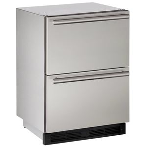"24"" Stainless Outdoor Drawer Refrigerator"