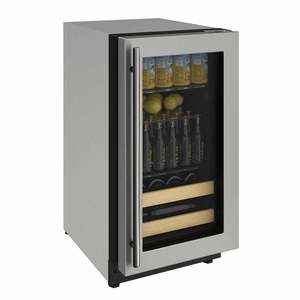 "18"" Stainless Beverage Center"