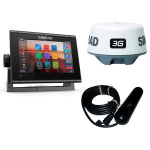 GO7 XSR Multifunction Display with 3G Broadband Radar, Navionics+ USA Charts and TotalScan™ Transducer