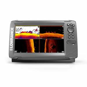 HOOK² 9 Fishfinder/Chartplotter Combo with TripleShot Transducer and US Coastal Charts