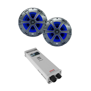 MCP4165AL Bluetooth Amplifier and Illuminite™ Two-Speaker Package