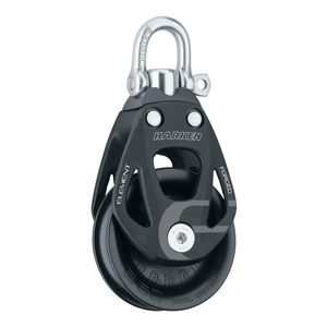60 mm Element Single Block with Swivel/Locking Shackle