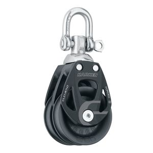 60 mm Element Double Block with Swivel/Locking Shackle