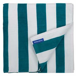 Seafoam Stripe Cotton Towel