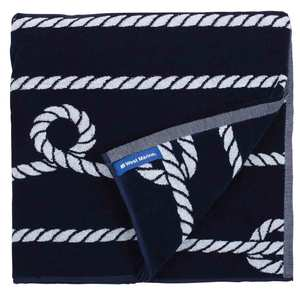 Rope Stripe Cotton Towel