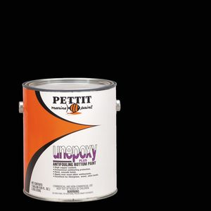 Unepoxy Plus Bottom Paint, Black, Gallon