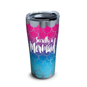 20 oz. Mermaid Tail Tumbler with Lid