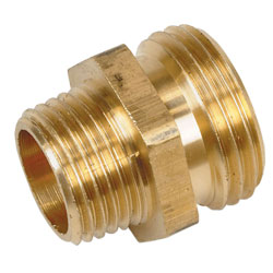 Brass Male Garden Hose Thread-to-NPT Adapters