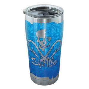 20 oz. Salt Life® Skull Tumbler with Lid