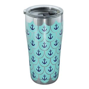 20 oz. Anchors and Scallops Tumbler with Lid