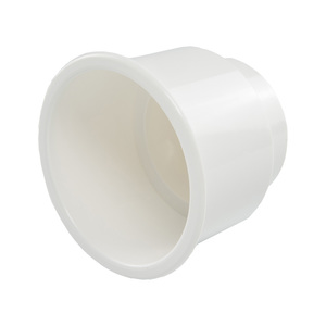 Large Nylon Recessed Cup Holder, White