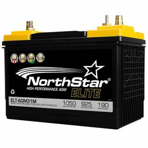 High Performance Pure Lead 31M AGM Battery with SAE/Threaded Terminals