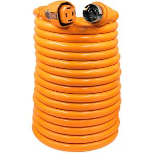 50' Dual Configuration Cordset, 50A, Orange