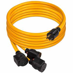 25' Power Cord for Portable Generator, Model 1105