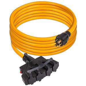 25' Power Cord for Portable Generator, Model 1120