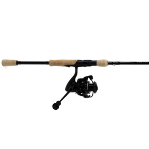7' Custom Black Freshwater Spinning Combo, Medium Power