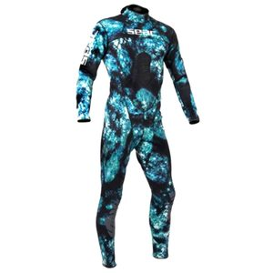 Men's Body Fit 1.5 mm Camo Wetsuit, Small