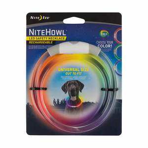 NiteHowl® LED Rechargeable Safety Necklace - Disc-O Select™