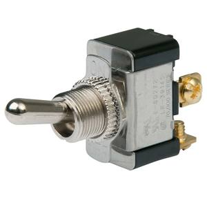 Heavy Duty Toggle Switch, On/Off, SPST