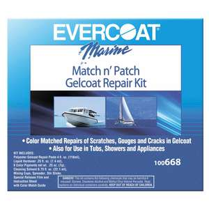Match n' Patch Gelcoat Repair Kit