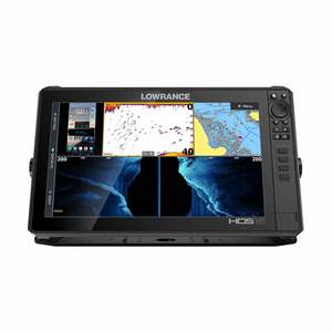HDS LIVE 16 Fishfinder/Chartplotter Combo with Active Imaging 3-in-1 Transducer and US Inland Enhanced Mapping